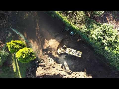 immagine di anteprima del video: Fresatura ceppi villa Castelli - Vermeer SC852